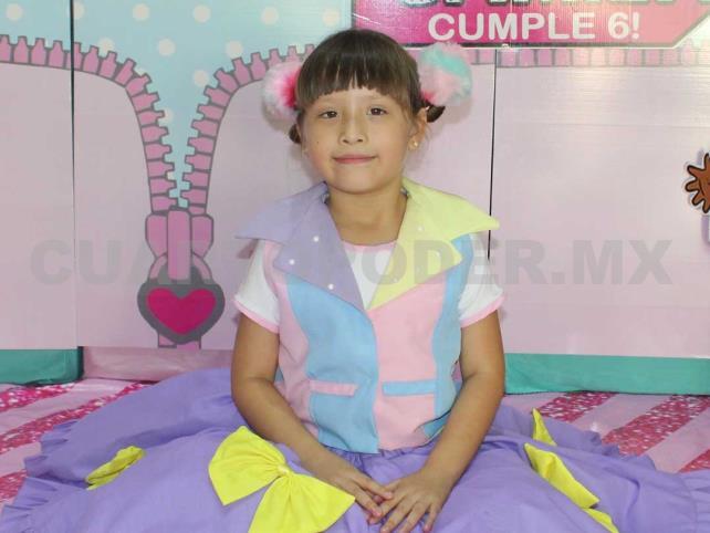 ¡Felices 6 años, Camila!