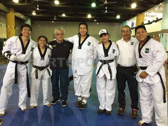 Taekwondoínes al Nacional de Yucatán