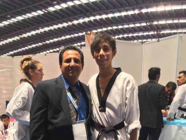 Jorge Iván logra su segundo oro en el Open México