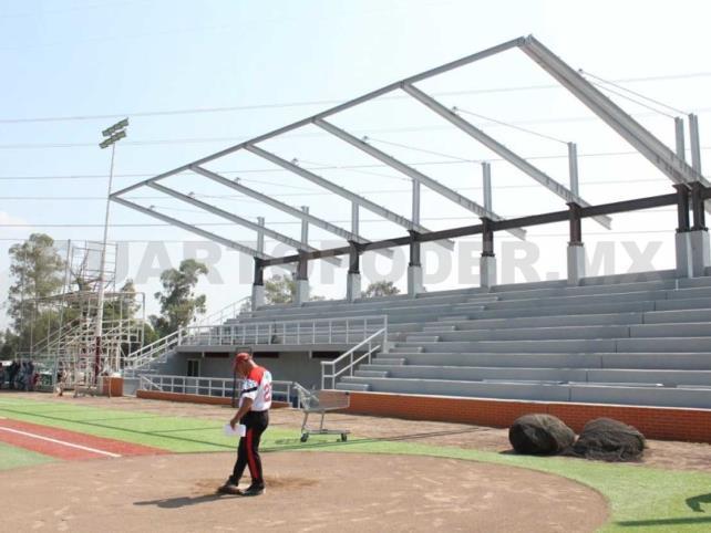 Leyendas inauguran el Complejo Municipal de Texcoco