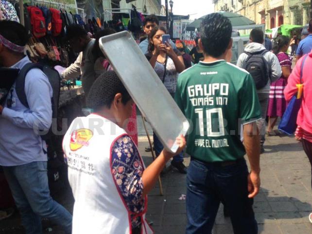 Ambulantaje, incontrolable en Oaxaca