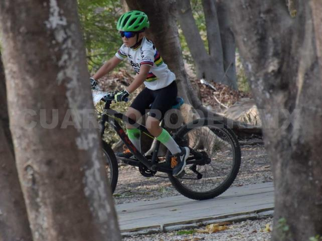 Palenque recibe la 1ª fecha del Serial Infantil MTB