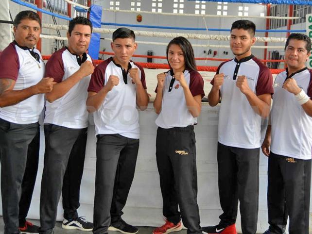 Viaja a Cancún la delegación de Boxeo
