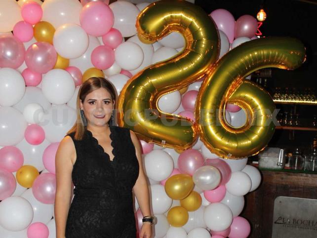 ¡Felices 26, Maritza!