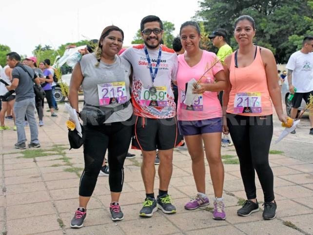 DIF Tuxtla celebra carrera por el medio ambiente