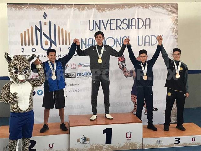 Jorge Iván se alista para el Mundial Universitario