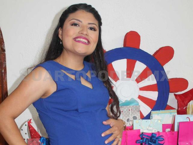 Baby shower para Abril
