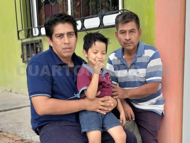 Oswaldo, un papá dedicado