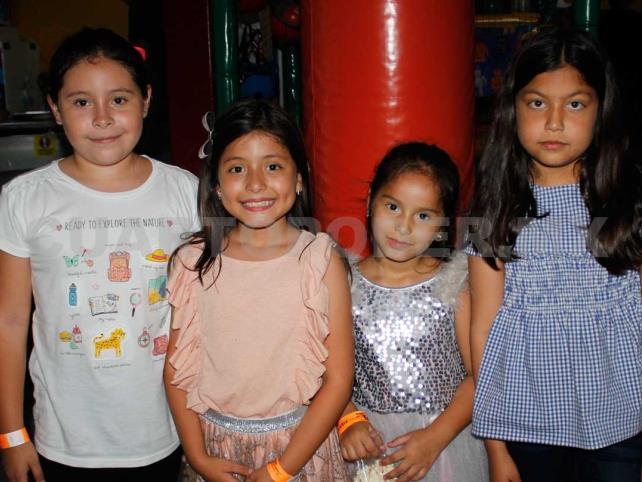Sofía cumplió nueve añitos