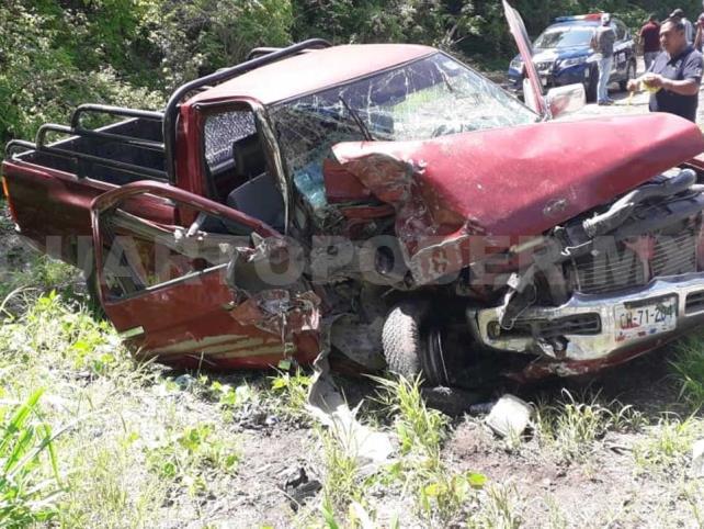 Encontronazo carretero deja a nueve personas lesionadas