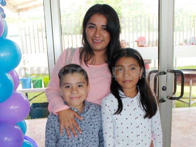Valentina cumplió cinco añitos