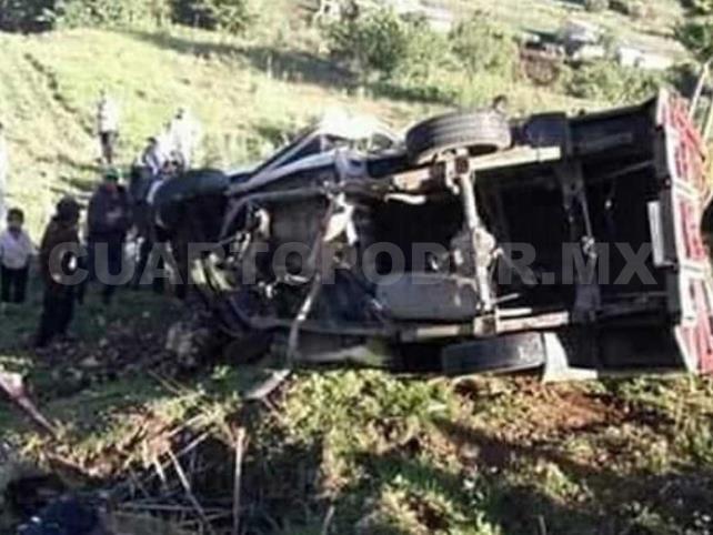 Sube a cinco muertos por el accidente en San Juan Chamula