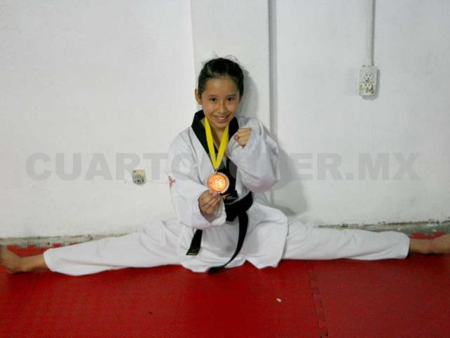 Padme Mendoza, con medalla en campeonato