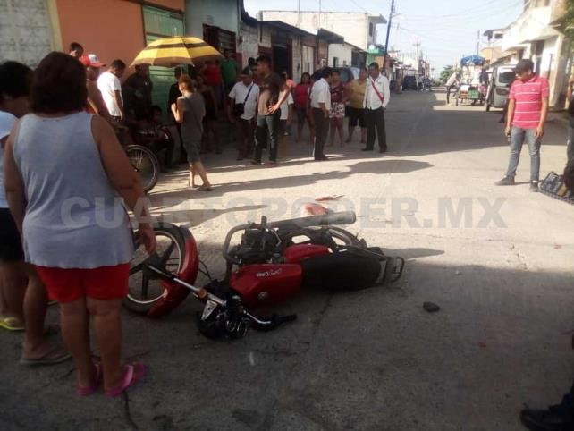 Falleció motociclista arrollado por Pick up