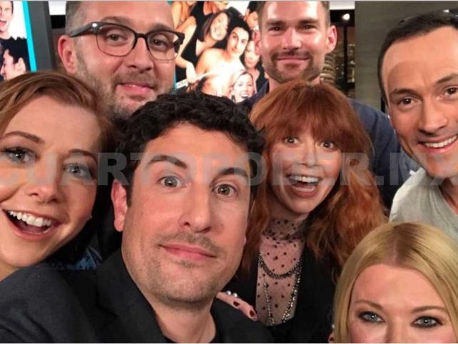 Actores de American Pie se reencuentran