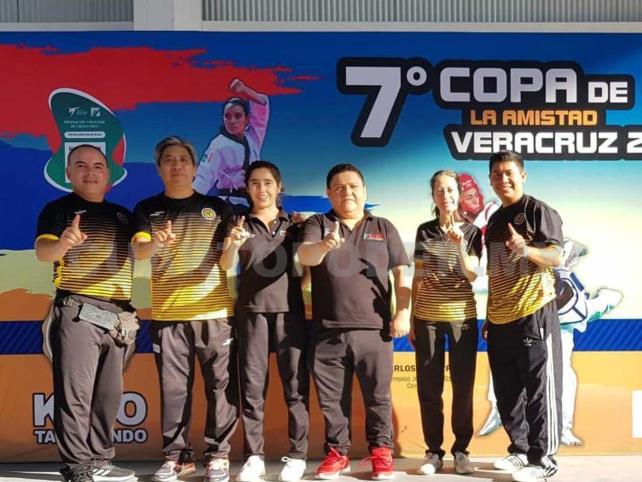 IOITKD regresa con 43 medallas de Veracruz