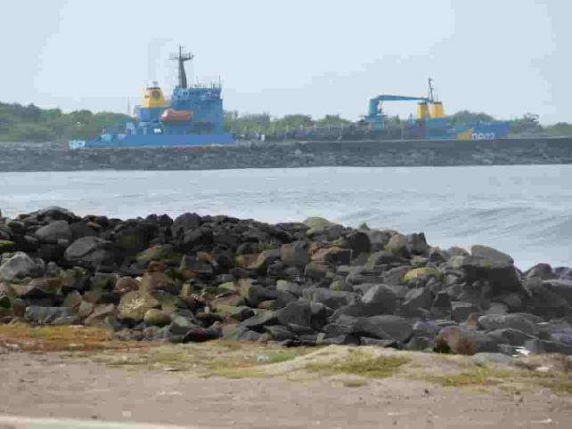 Dragan Puerto Chiapaspara ingreso de buques