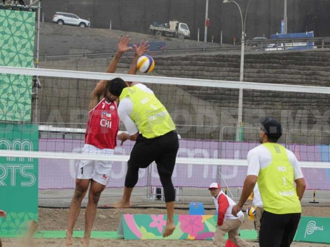 México pierde en Voleibol de Playa