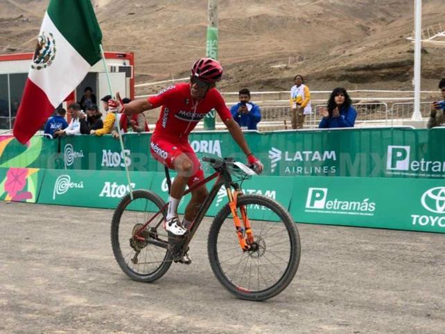 Ulloa levanta oro en Ciclismo de Montaña