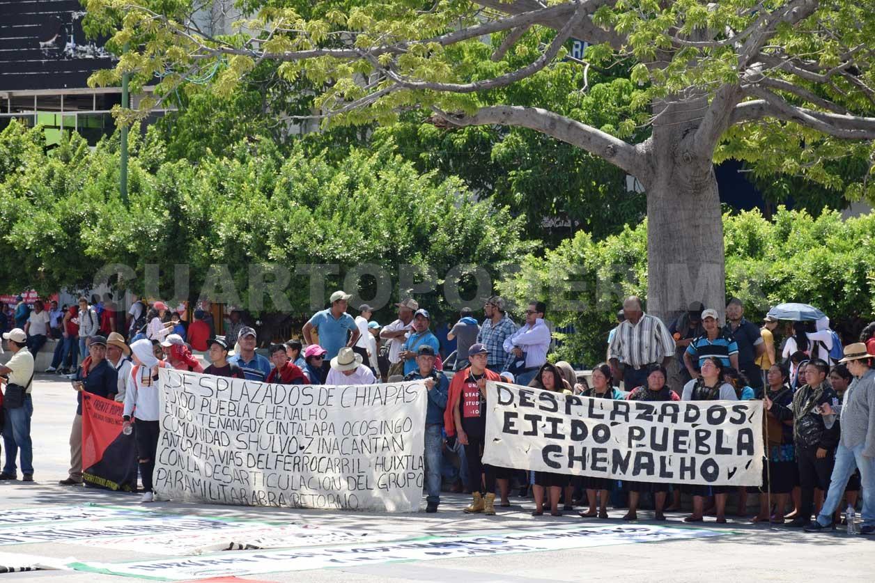 Atacan paramilitares comunidades en Chenalhó