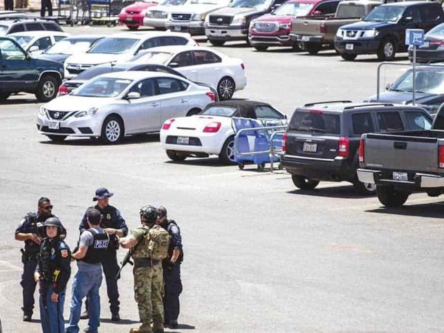 Reportan 20 muertos tras tiroteo en Texas