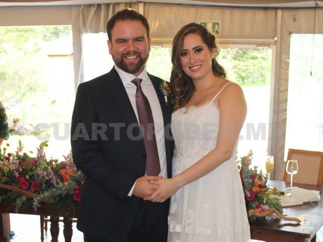 Anna Lucía y Mario se dieron el sí