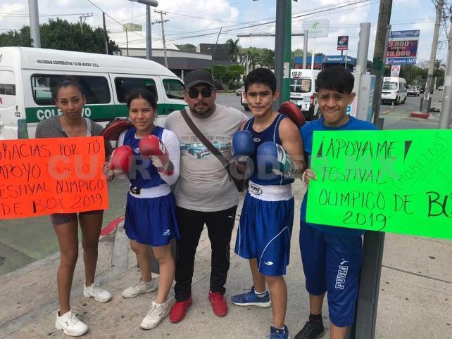 Atletas piden apoyo para ir a Olimpiada