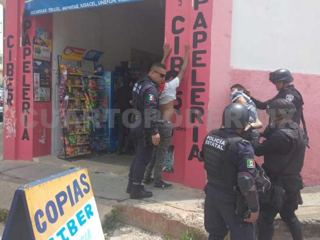 Frustran asalto y detienen a los presuntos hampones