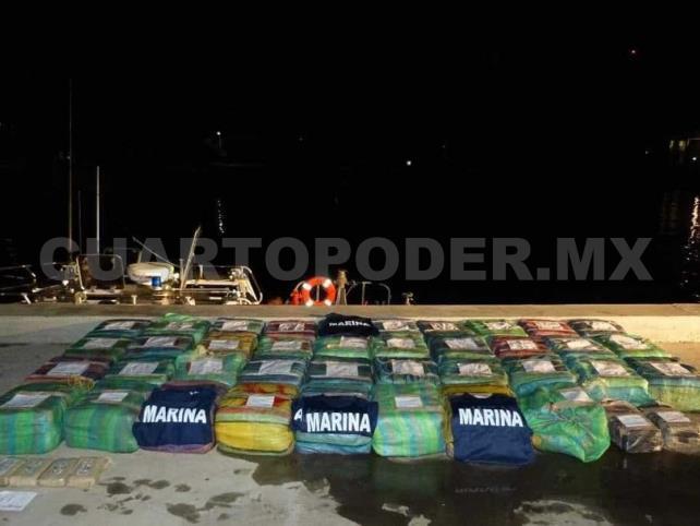 Aseguran mil 200 kilos de cocaína; siete detenidos