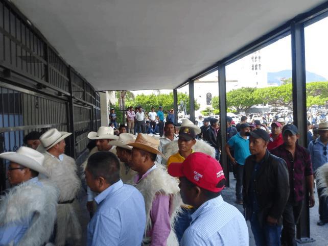Piden reconocer plebiscito en Chamula