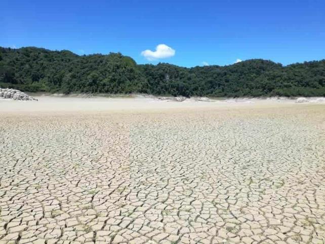 Laguna de Metzabok desaparece