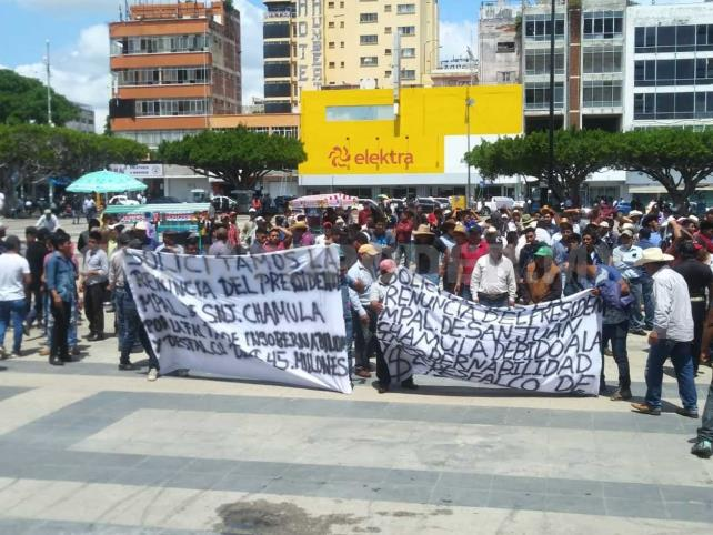 Piden reconocer plebiscito en San Juan Chamula