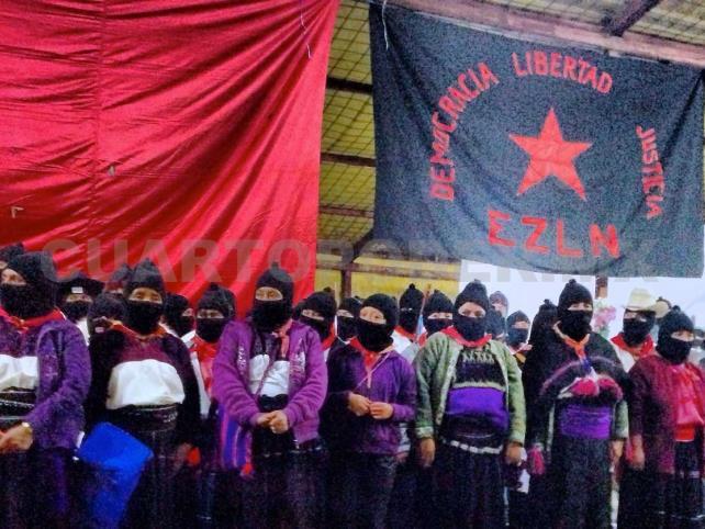 """En los pueblos originarios """"llueve sobre mojado"""": EZLN"""