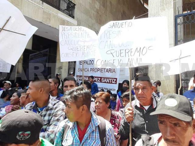 Violencia política genera inconformidad en Cancuc