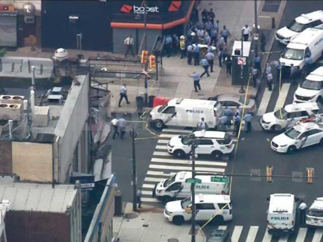 Filadelfia vive caos por tiroteo