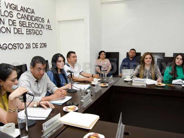 Analizan candidatos para el Sistema Anticorrupción