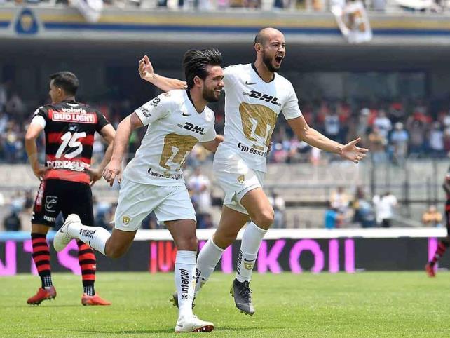 Agonizante triunfo de Pumas contra Toluca