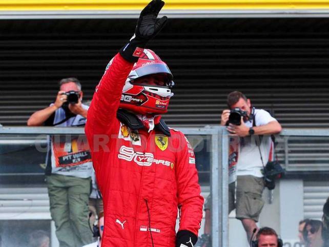 Leclerc logra en Bélgica su primer Gran Premio