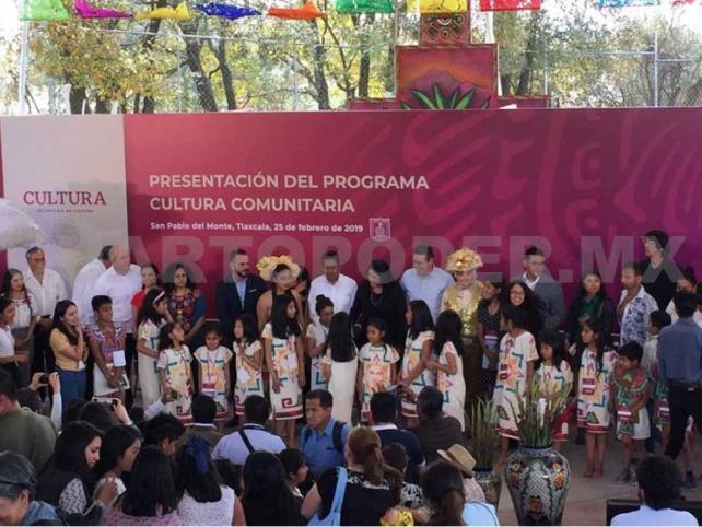 Presidencia destaca Cultura Comunitaria