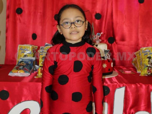 8 años de Geraldine