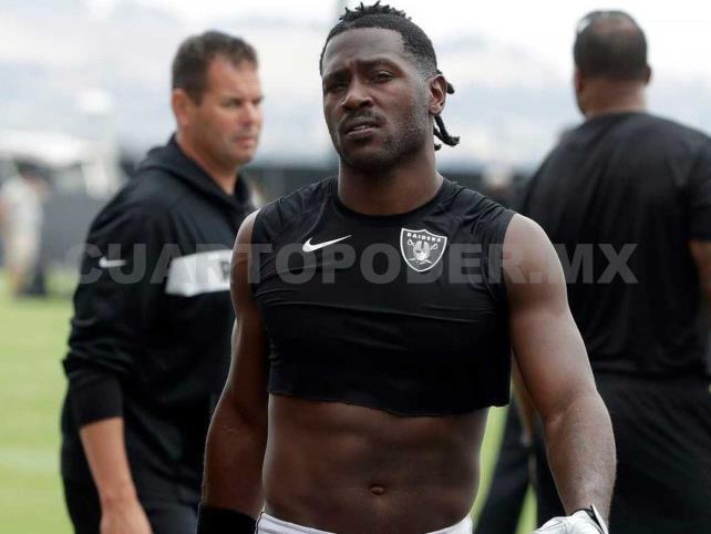 Antonio Brown está fuera de los Raiders