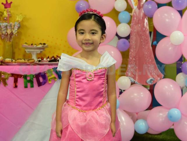 Lució como una princesa