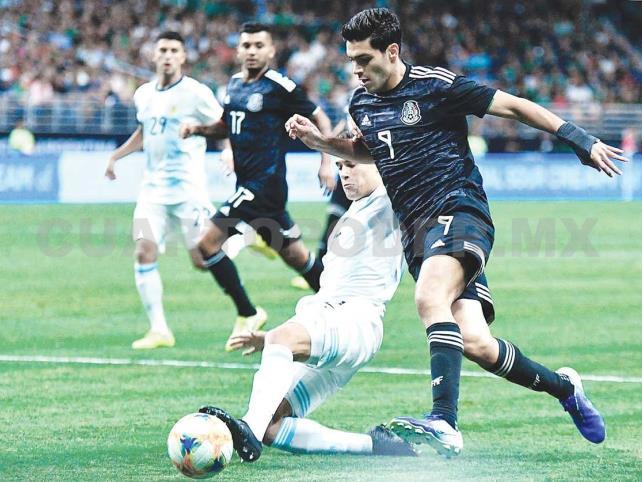 Humillante derrota de México contra Argentina