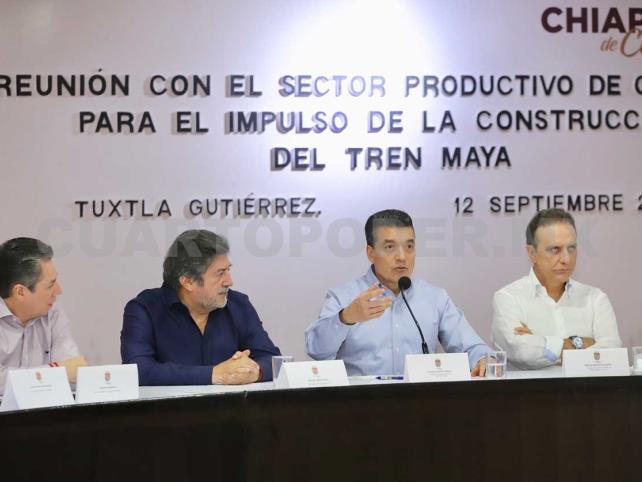 REC encabeza reunión para impulsar Tren Maya