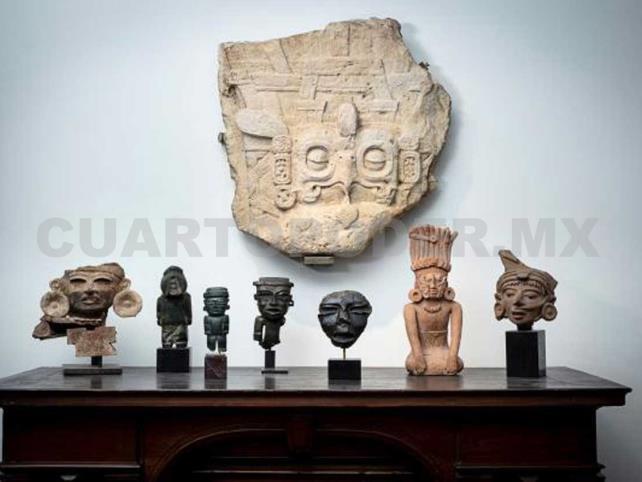 Reprueban subasta de piezas prehispánicas