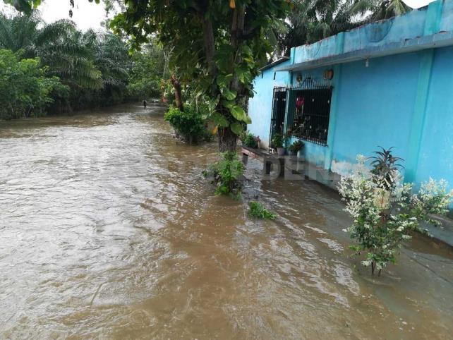Precipitaciones causan afectaciones en municipios