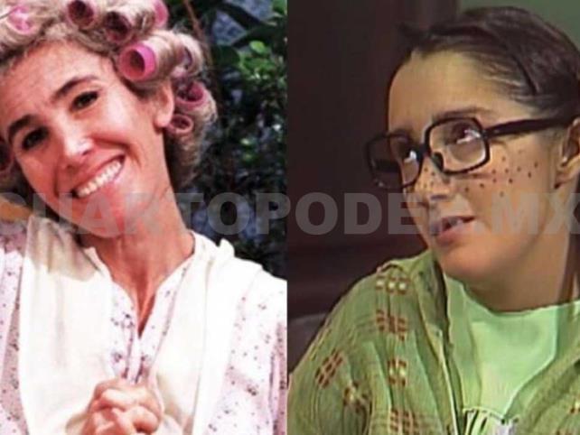 """Florinda Meza le da el pésame a la """"Chilindrina"""""""