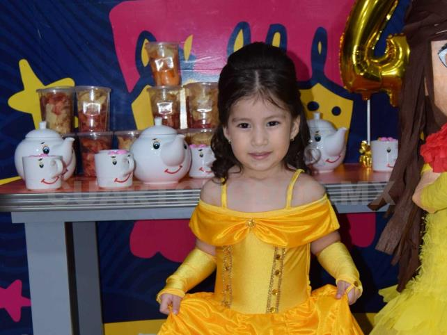 Camila celebró sus cuatro años