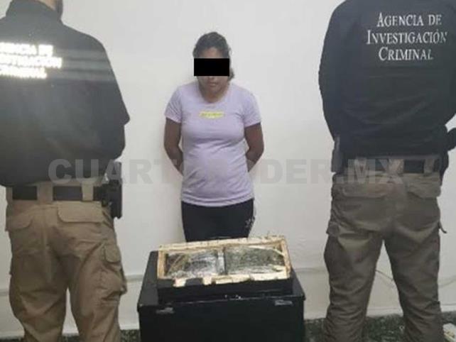 Detienen a mujer con dos kilos de cocaína