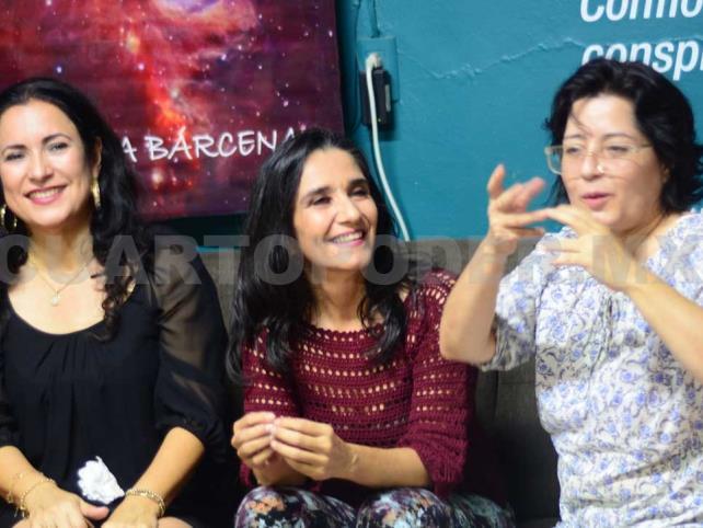 Margarita Bárcenas habla del amor filial